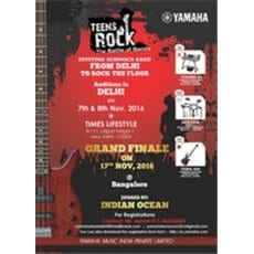 Announcing Teens Rock - The Battle of Bands 2016 in North India & South India for Academic Schools