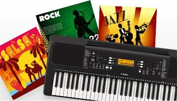 PSR-E363 - Overview - Portable Keyboards - Keyboard Instruments