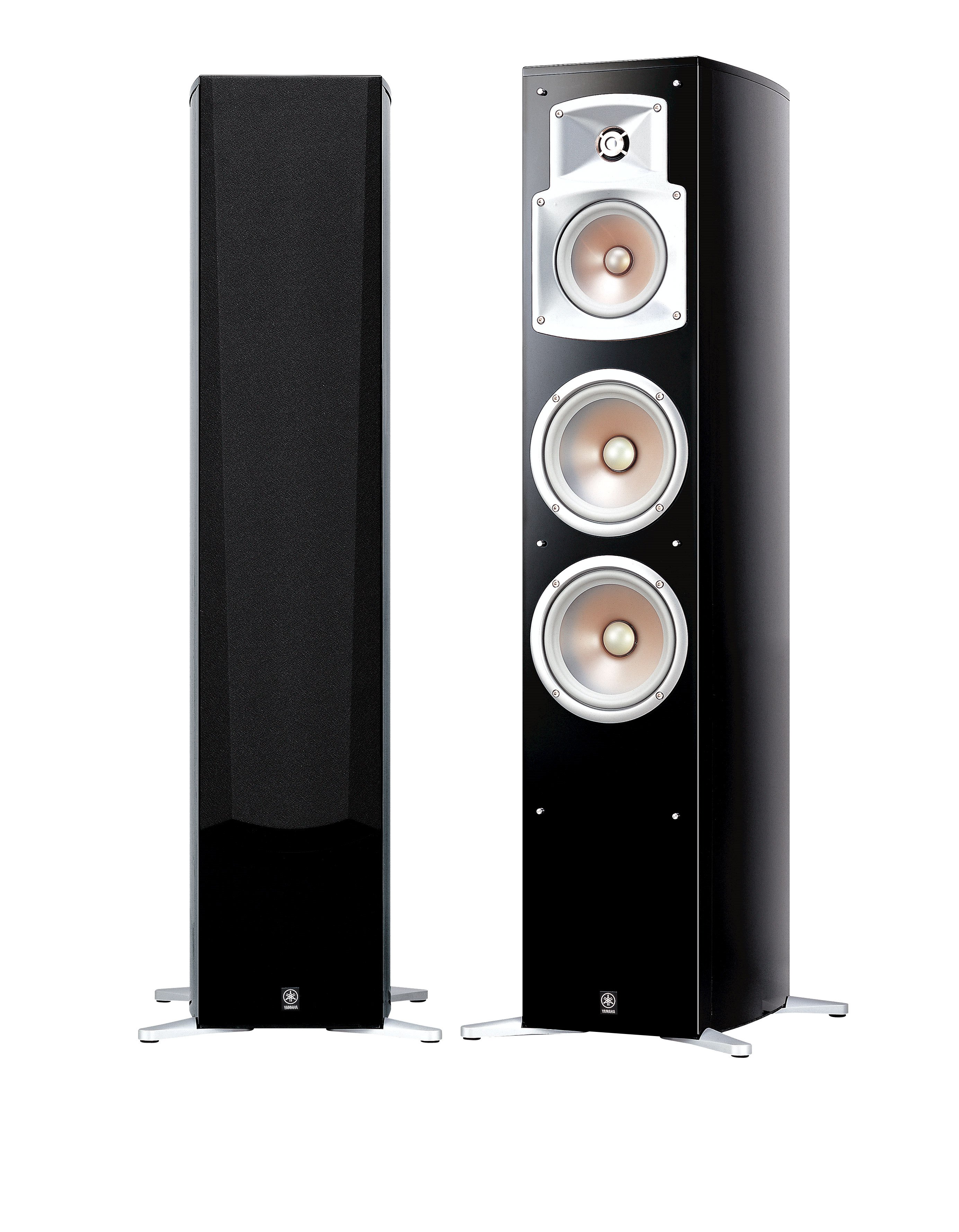 Speaker Systems Audio Visual Products Yamaha India 3 Way Switch Ns 555 Bass Reflex Tower