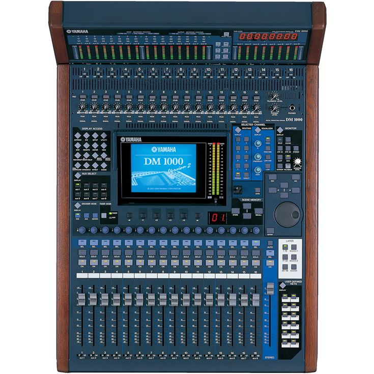 Dm1000vcm Overview Mixers Professional Audio