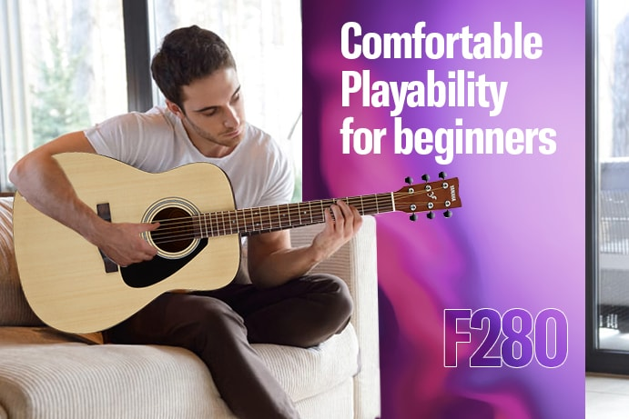 F280 : A Remarkable Acoustic Guitar, Exclusively MADE FOR INDIA !