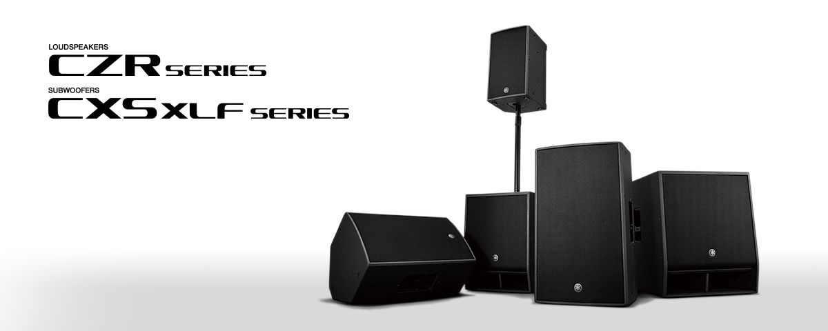 CZR / CXS XLF Series - Overview - Speakers - Professional