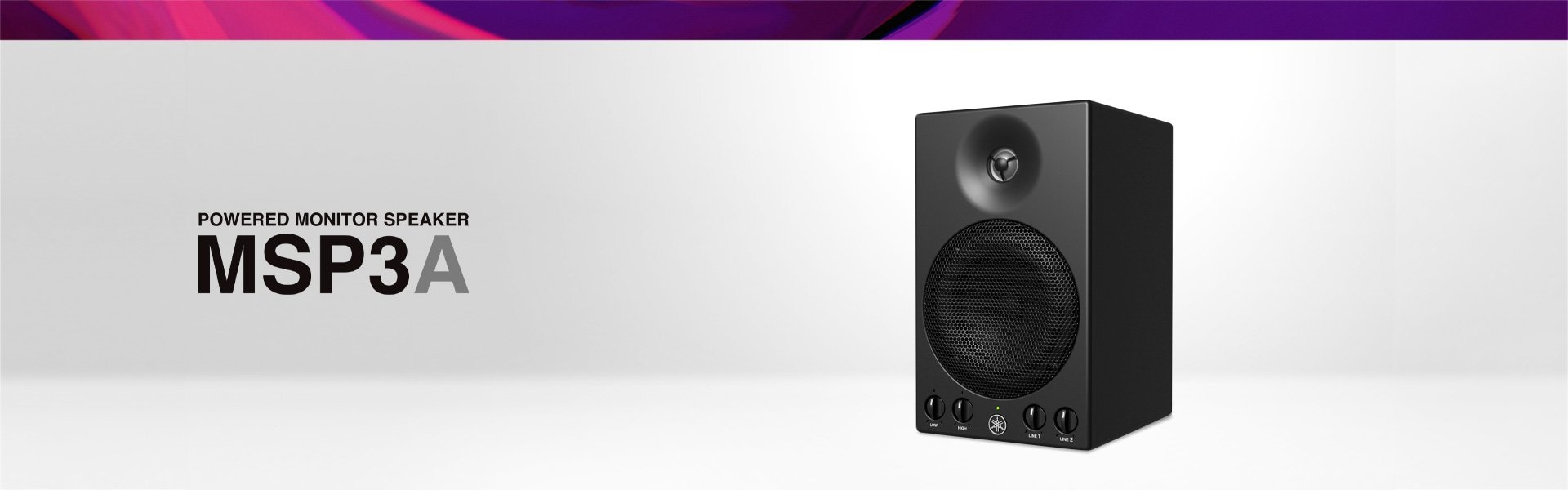 Yamaha Powered Monitor Speaker MSP3A